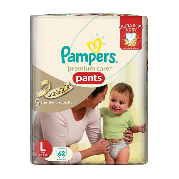 Pampers Baby CleanGCOngo 62 Wipes