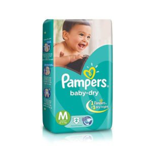 Pampers Diaper Medium 2s X 96