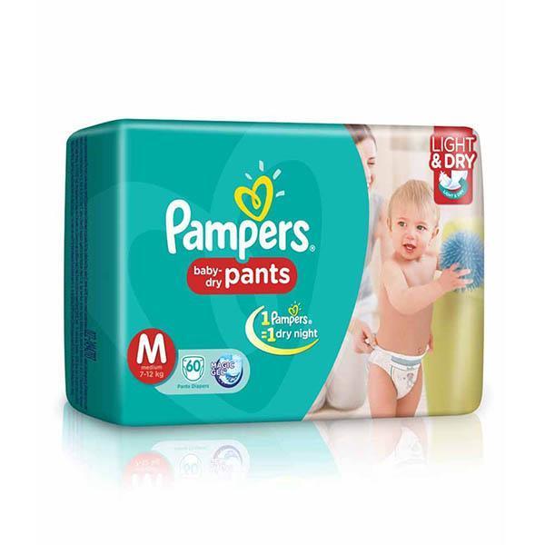 Pampers Diaper Medium 8s X 24