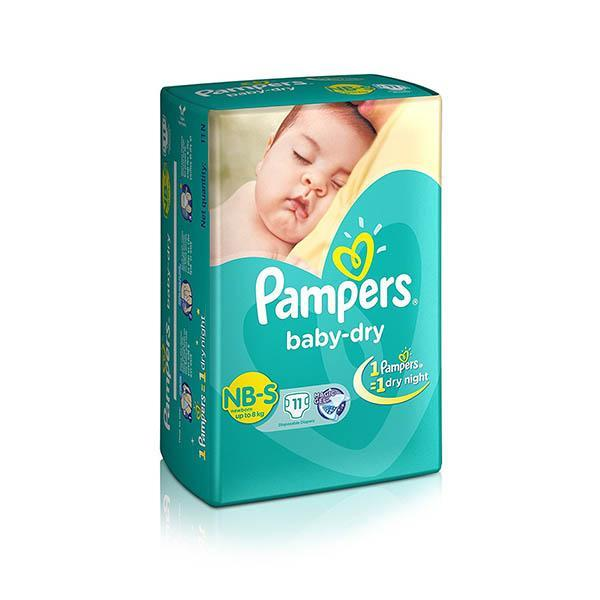 Pampers Diaper New Born L 9pads