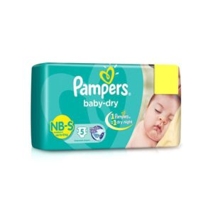 Pampers Diaper New Born S 5pads