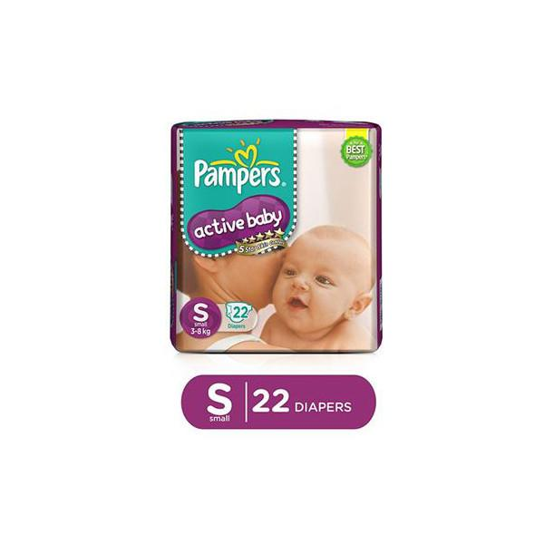 Pampers Diaper Pants Small 22pc