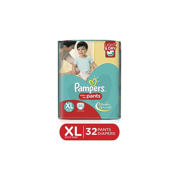 Pampers Diaper Pants Xl 32pc