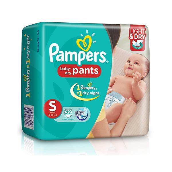Pampers Diapers 8s Small