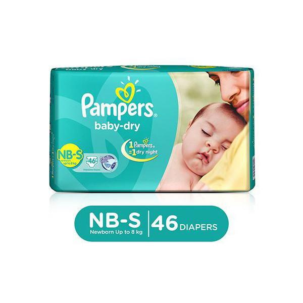 Pampers Diapers Act Baby Small 4 8k 46s