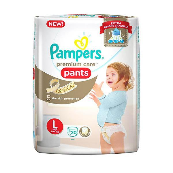 Pampers Diapers Lg 20s X 12 Econ