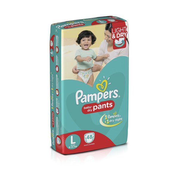 Pampers Diapers Lg 32s X 6 Vp