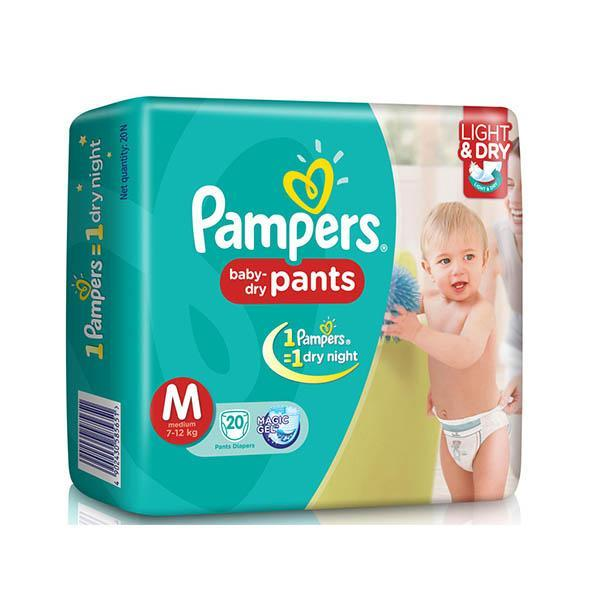 Pampers Diapers Md 20s X 12 Econ