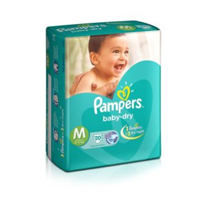 Pampers Diapers Md 24s X 12 Econ