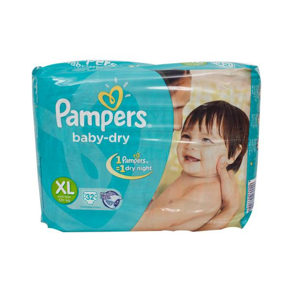 Pampers Diapers Xl 32s