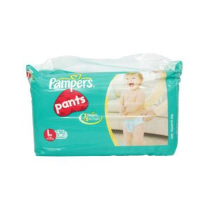 Pampers Easy Ups Pants Large 36s