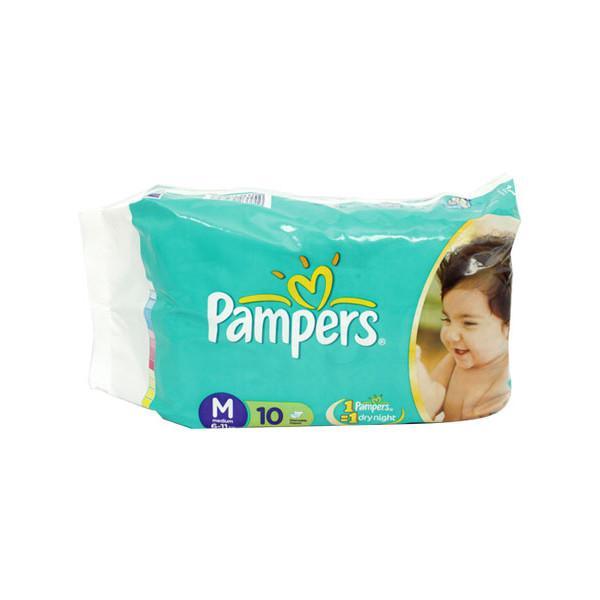 Pampers Medium Diapers 10s