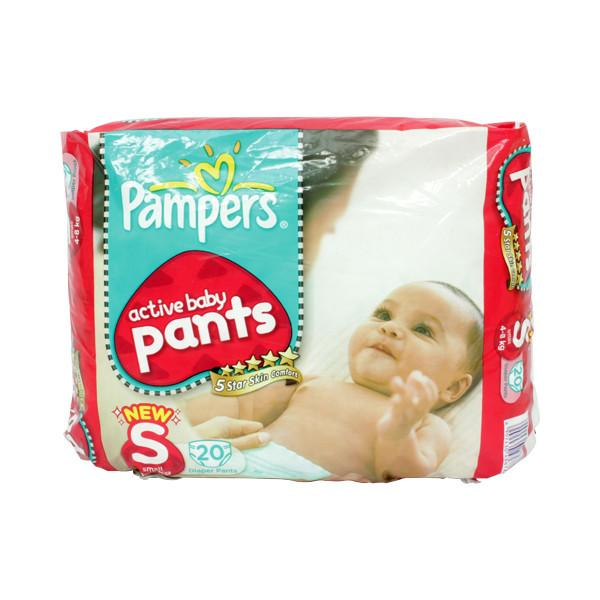 Pampers Pant Diapers S 20s