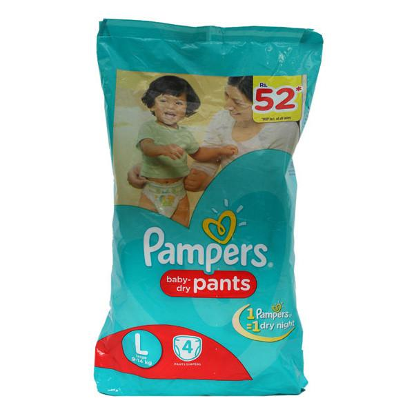 Pampers Pants 4s Large