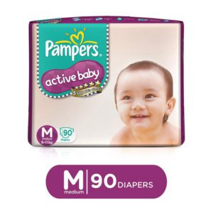 Pampers Pants Active Baby Mdm 7 10k 90s