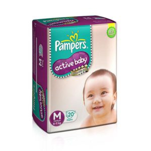Pampers Pants Active Baby Xlarge 12 20s
