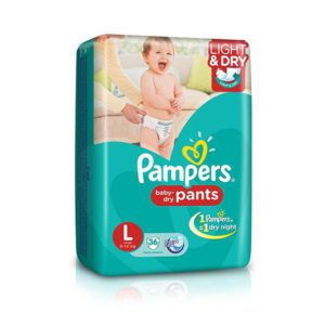 Pampers Pants L 36