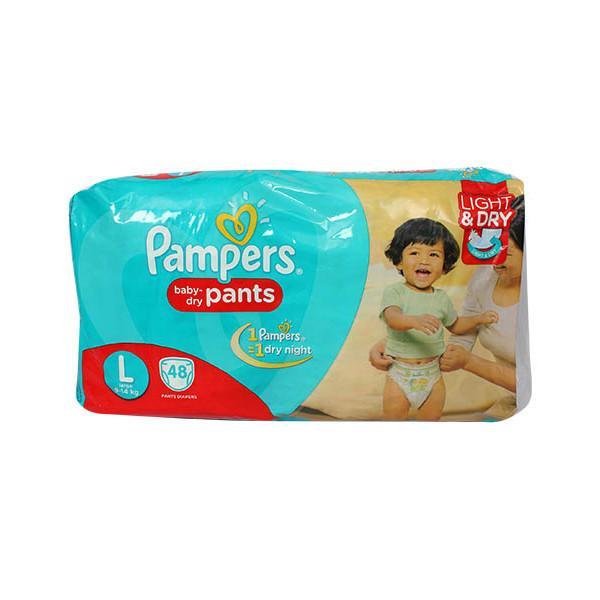 Pampers Pants L 48s