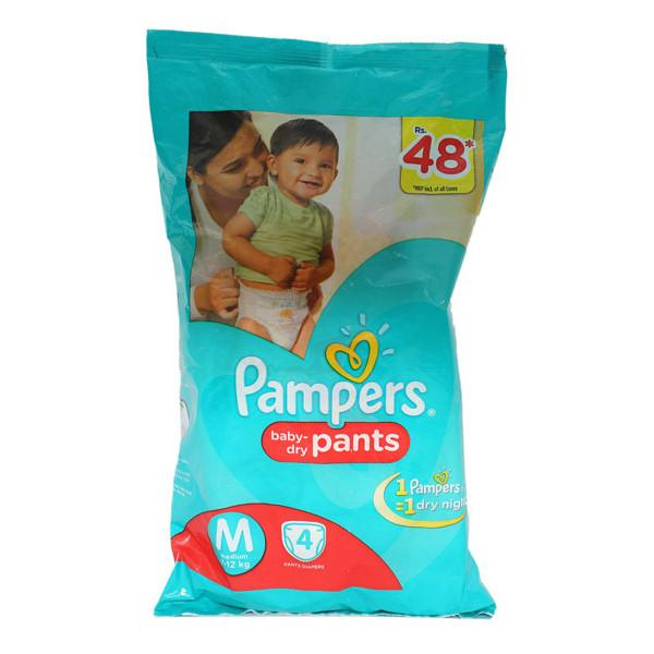 Pampers Pants M 4s