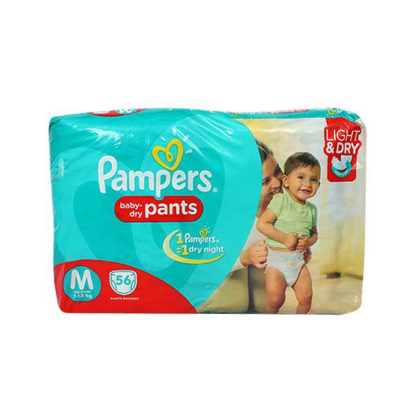 Pampers Pants M 56s