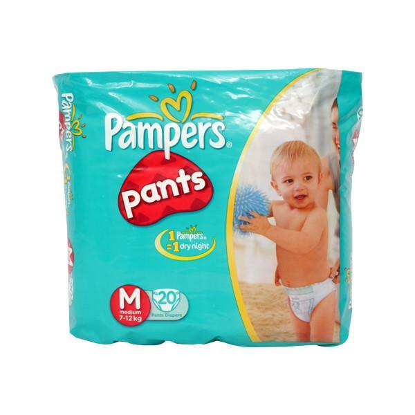Pampers Pants Medium 20s