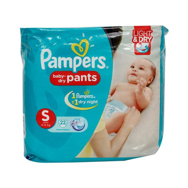 Pampers Pants S 22s