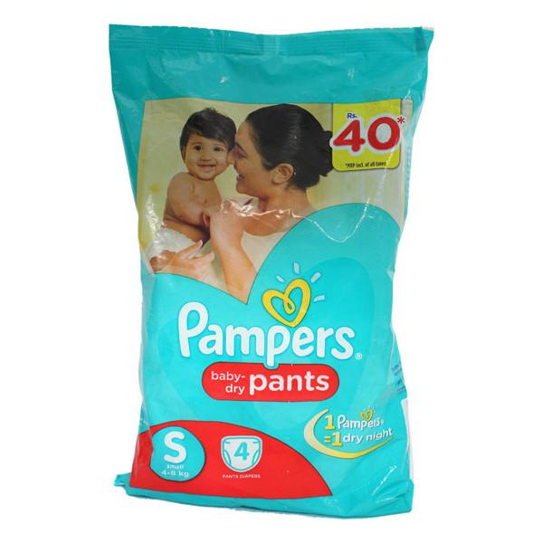 Pampers Pants S 4s