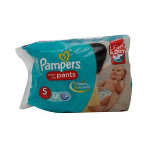 Pampers Pants S 9s