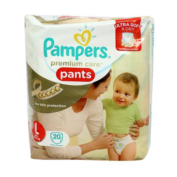Pampers Premium Care Pants L 20s