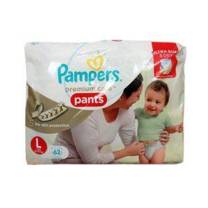 Pampers Premium Care Pants L 62s