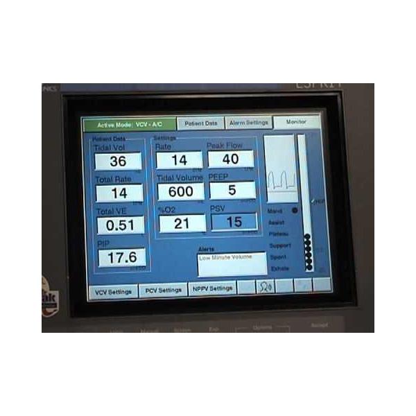 Philips Espirit 3100 ICU Ventilator 3