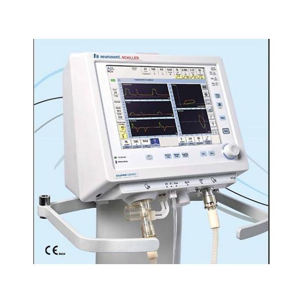 Schiller GraphNet Ts Adult Pediatric Ventilator 1 1