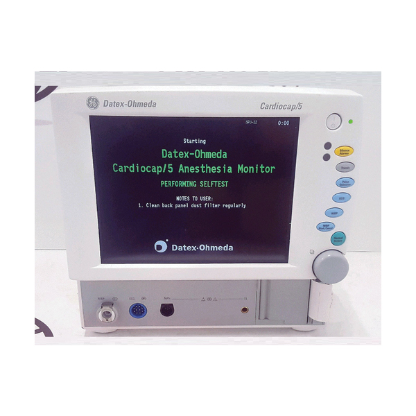 Datex Ohmeda Cardiocap 5 Patient Monitor 1 2