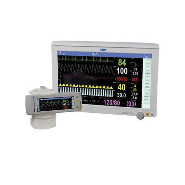 Draegar Infinity M540 With C 700 Patient Monitor Refurb 1 4