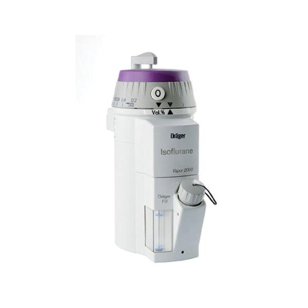 Drager Anesthesia Vaporizer Sevoflurane And Isoflurane Gas Mount 4