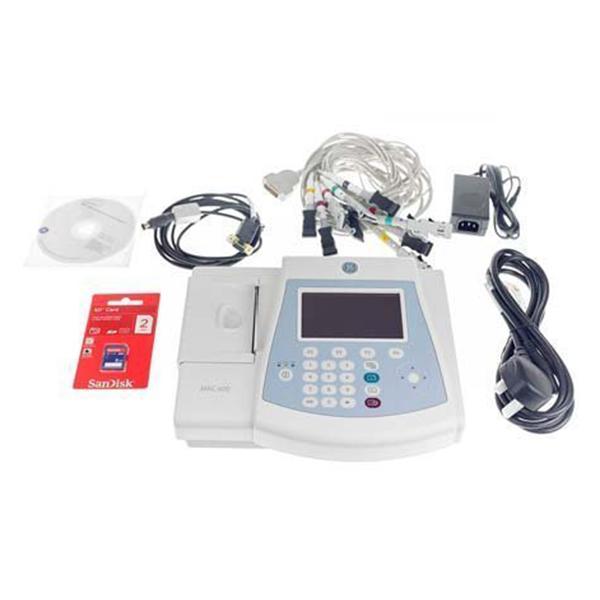 GE Mac 600 12 Lead Color Resting ECG Machine 1 1
