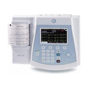 GE Mac 600 12 Lead Color Resting ECG Machine 1