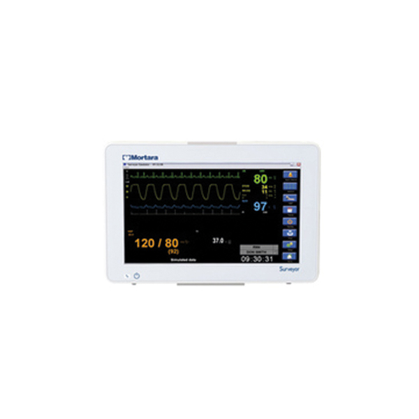 Mortara Surveyor S19 Patient Monitor With Touchscreen Color Display 3