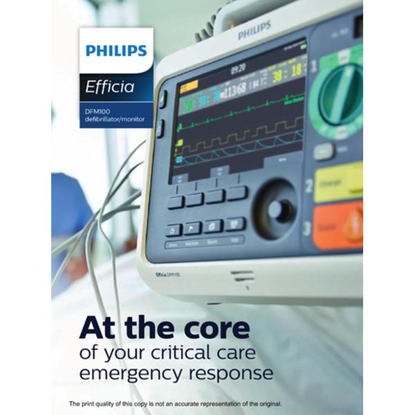Philips Efficia DFM100 Defibrillator Monitor 1