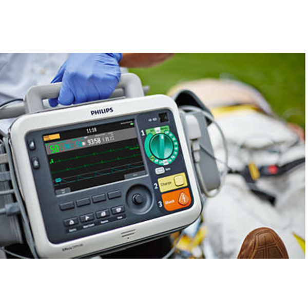 Philips Efficia DFM100 Defibrillator Monitor 3