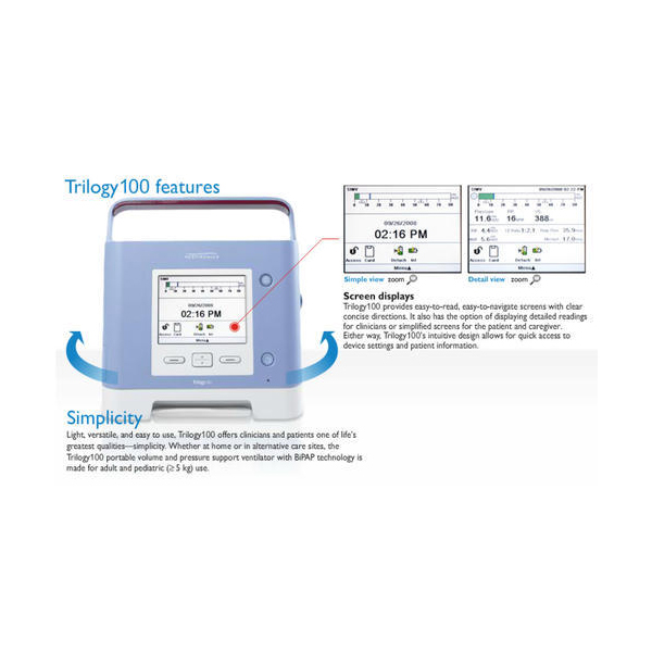 Philips Respironics Trilogy 100 Ventilator 1 1