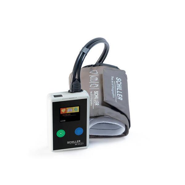 Schiller BR 102 Plus Ambulatory Blood Pressure Monitoring ABPM