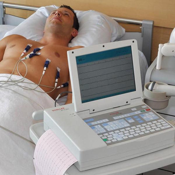 Schiller Cardiovit AT 10 Plus ECG Machine Imported 1