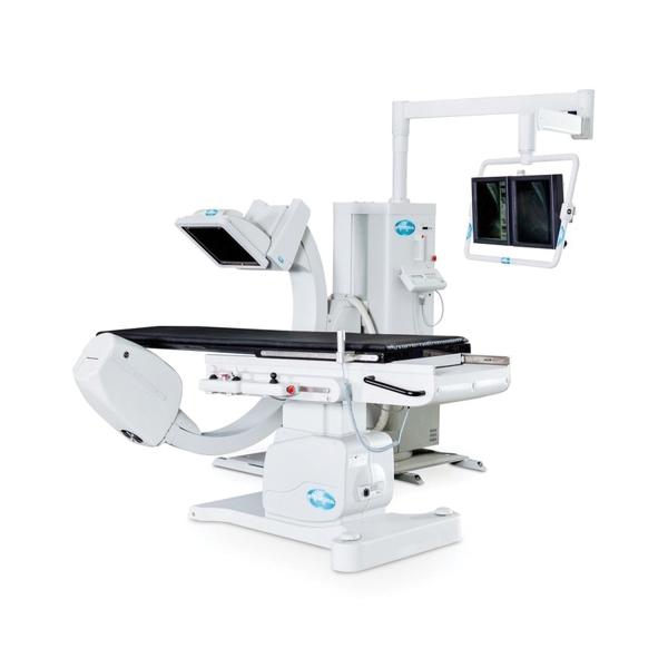 Schiller Radius XP 100 Cardio Ceiling Cath Lab System 3