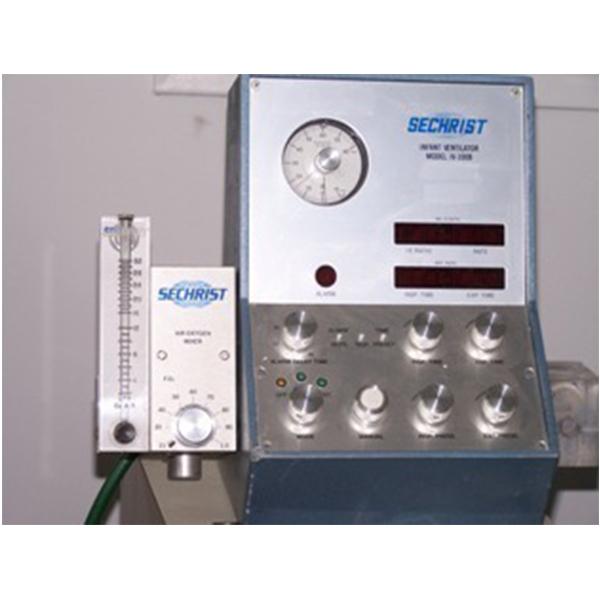 Sechrist IV 100B Infant Pediatric Ventilator 2 1