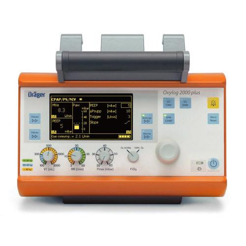 Drager Oxylog 2000 Transport Ventilator (Refurbished)