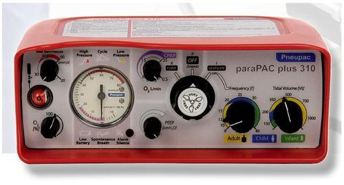 Para PAC Plus Transport Ventilator