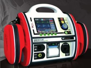 RESCUE Life Manual and Semiautomatic Defibrillator