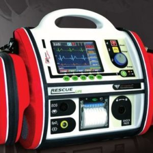 RESCUE Life Manual and Semiautomatic Defibrillator