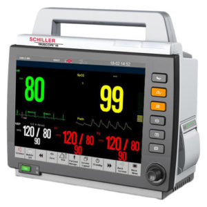 Schiller Truscope III Touchscreen Patient Monitor